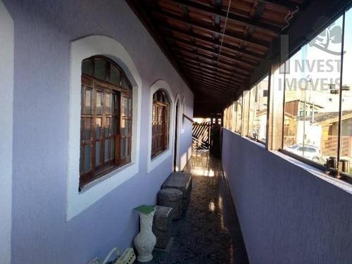 Cód 3455 - Ótima Casa Com Linda Vista Panorâmica Para Cidade - 3455