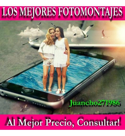 Fotomontajes, Retoques Fotográficos, Arreglos Y Más...