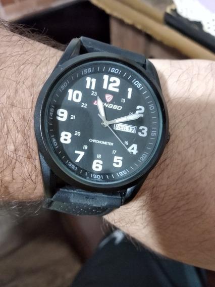 Relógio Longbo Pulseira De Silicone