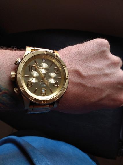 Relógio Original, Nixon Dourado 48-20