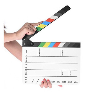 Coolbuy112 Professional Movie Directors Clapboard,