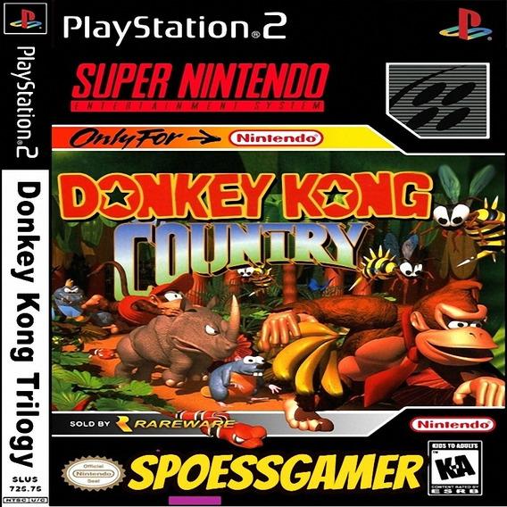 Donkey Kong Trilogy (3 Em 1) Ps2 Desbloqueado Patch