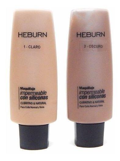 Heburn Profesional Base Maquillaje Impermeable Siliconas 282