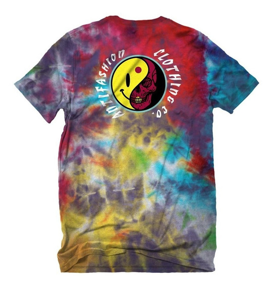 Playera Multicolor Hippie Antifashion