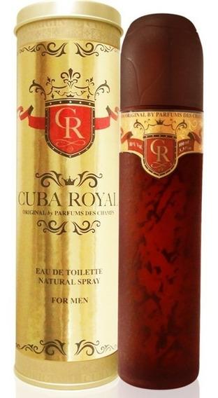 Perfume Cuba Royal 100ml O Legítimo 100% Original Promoção
