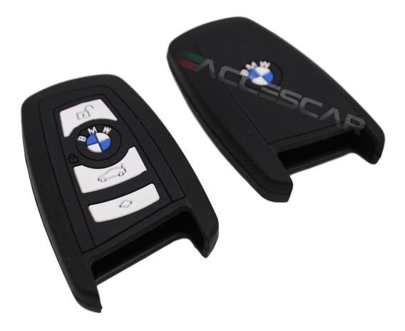 Capa Chave Silicone Presencial Bmw 320i 328i X1 Preto