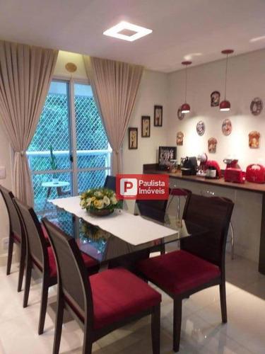 Apartamento Com 3 Dormitórios À Venda, 77 M² Por R$ 550.000,00 - Vila Sônia - São Paulo/sp - Ap28556