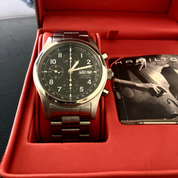Reloj Hamilton Khaki Chrono H71516133 No Omega, Mido.