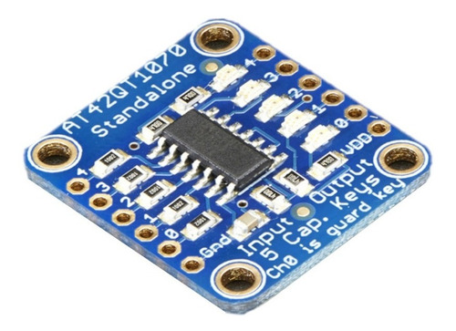 Sensor Táctil Capacitivo - At42qt1070 Id:1362