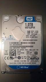 Hd 1terabyte Para Notebook 2.5 - Wd10jpvx-75jc3t0