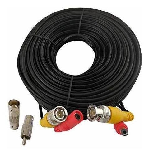 Imagen 1 de 6 de Cable Bnc Cable De Extensión Todo En Uno De Alimentación De