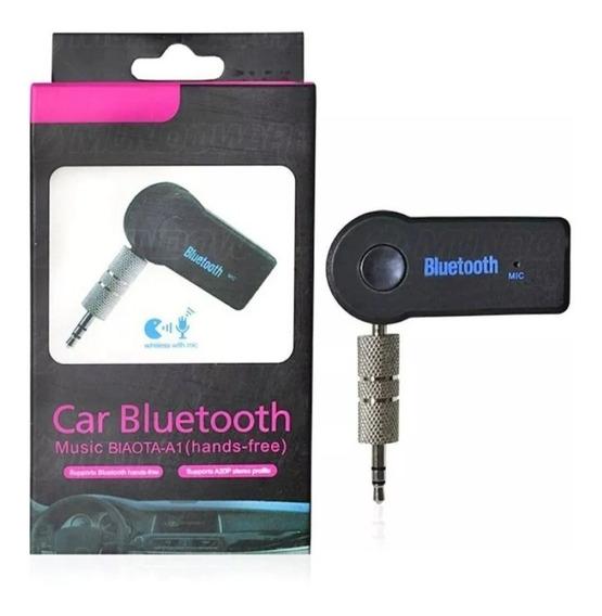Receptor Bluetoot P2auxiliar Carro Som Audio Android Musica