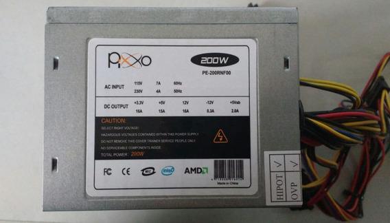 Fonte Atx Pixo Mod Pe-200rnf00 200w Usada Testada Ref: 01152