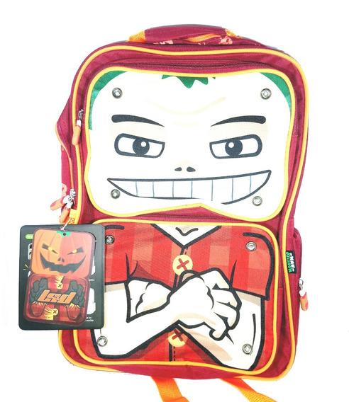 Mochila Monster Man Nene 17 - 23 Ls&d 91.17000 - Calabaza