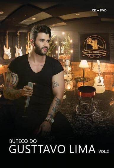 Dvd Gusttavo Lima - Buteco Do Gusttavo Lima Vol.2 (dvd + Cd)