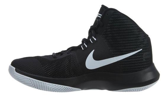Tenis Nike Air Precision Negro Suela Blanca