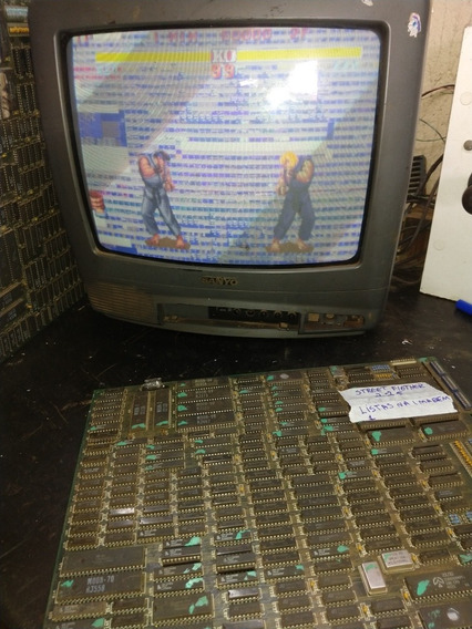 Lote De Placas Jamma Street Fighter 2.75 No Estado