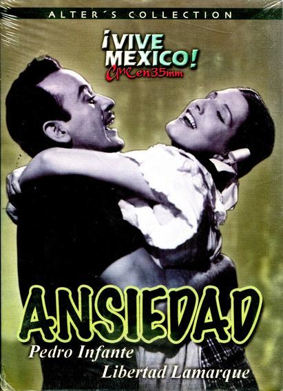Dvd Ansiedad ( 1953 ) - Miguel Zacarias / Pedro Infante / Li