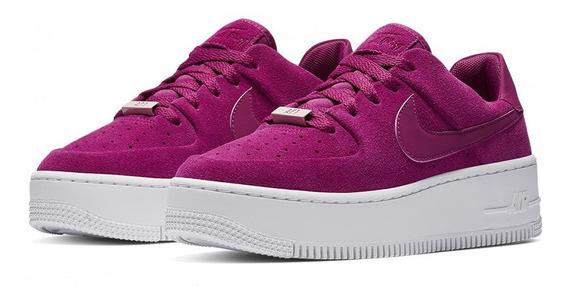 Tenis Nike Air Force 1 Sage Low Dama Originales Nuevos Caja