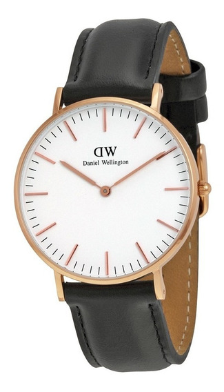 Reloj Daniel Wellington Sheffield Acero Piel Mujer 0508dw