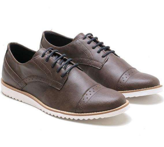 Sapato Social Casual Oxford Inglês Original Form