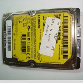 Hd Samsung 160gb Hm160hi Defeito