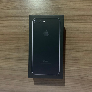 Caixa iPhone 7 Plus Preto Brilhoso Jet Black 128gb + Manuais
