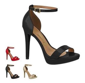 Sandalia Vizzano Salto Alto Fino Meia Pata 6278.104 Fashion