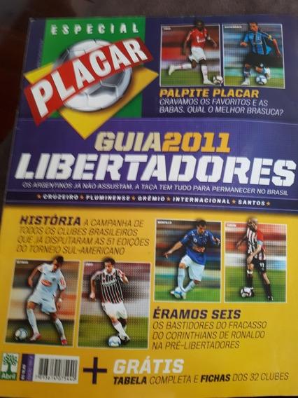 Revista Placar Guia Da Libertadores 2011