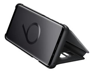 Funda Original Clear View Samsung S9 S9 Plus Flip Cover