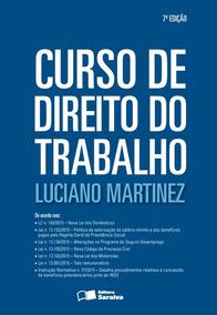 Curso De Direito Do Trabalho - 7ª Ed. 2016