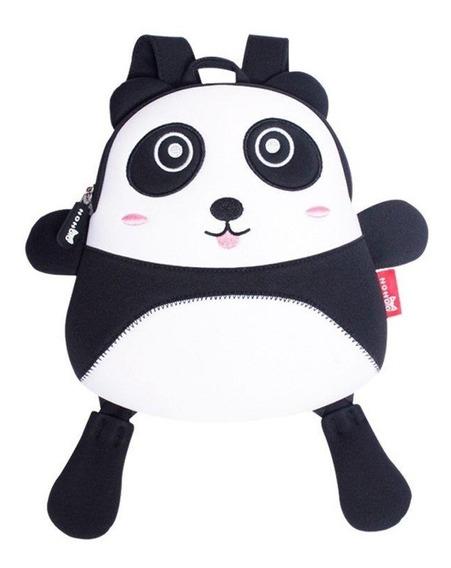 Mochila Infantil De Neoprene Original Nohoo Panda