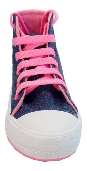 Zapatillas Botitas Niñas Marca Small Modelo Reggie (0408)