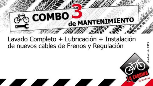 Servicio De Mecánica Para Bicicleta - Combo 3