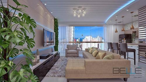 Imagem 1 de 30 de Apartamento Com 3 Dormitórios À Venda, 120 M² Por R$ 1.882.453,00 - Centro - Balneário Camboriú/sc - Ap0163