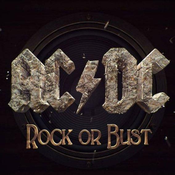 Cd Ac/dc Rock Or Bust - Novo Lacrado Capa Holografica