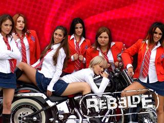 Novela Rebelde Rbd As 3 Temporadas Completas Dubladas Em Dvd