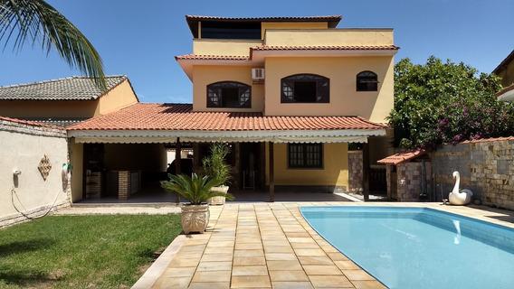 Casa Itaipuaçu, 4 Suítes, Piscina, Churrasqueira . Vista Mar