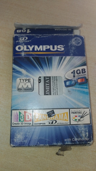 Cartão Memória Olimpus Xd 1 Giga Novo