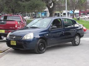 Nissan Platina 1.6 Premium Automatico 2007 Azul