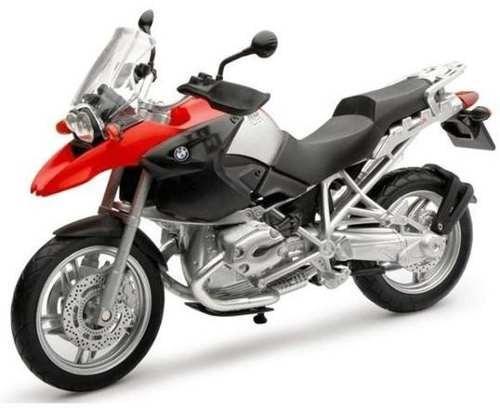 Moto Bmw R 1200 Gs Escala 1:12 New Ray