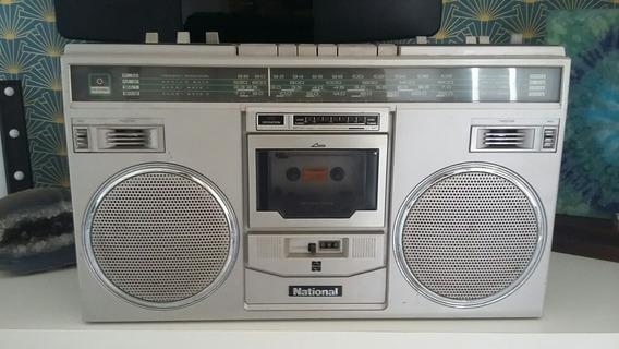 Radio Gravador Bombox National
