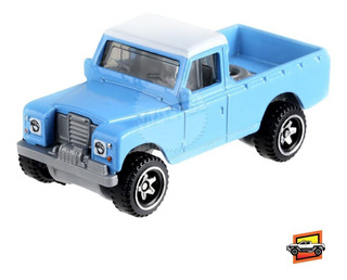 Hot Wheels 2019 #111 - Land Rover Series 3 Pickup 2nd Color