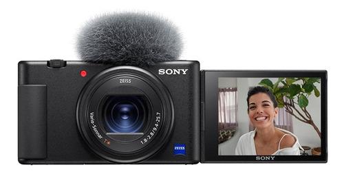 Imagem 1 de 3 de Sony ZV-1 compacta cor  preto