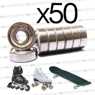 Hand Spinners Ruleman 608 Zz Skate Roller X 50 Unidades