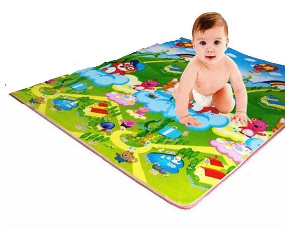 Tapete Tatame Infantil Bebê Educativo 1,80