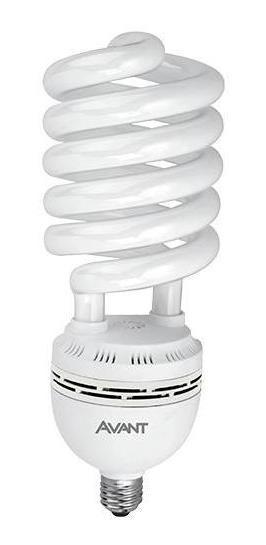 10 Lampadas Espiral 15w 220v Branca 6500k Avant