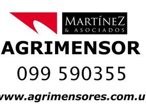Agrimensor De La Costa, Rocha, Maldonado, Canelones