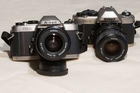 Câmera Fotográfica Analógica Nikon Fm-10 Com Lente 35-70mm