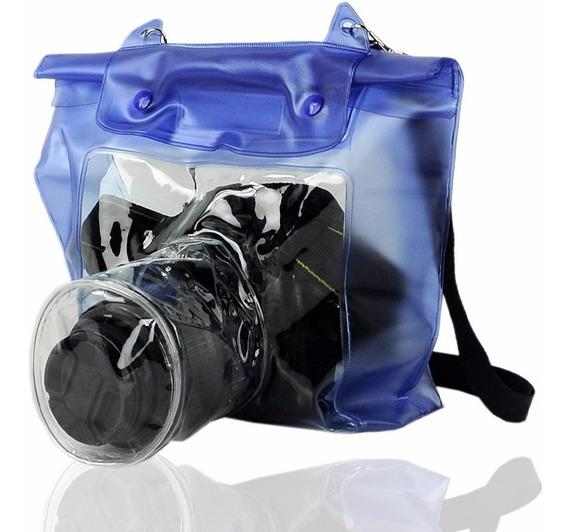 Capa Bolsa Estanque Prova De Água Todas Câmeras